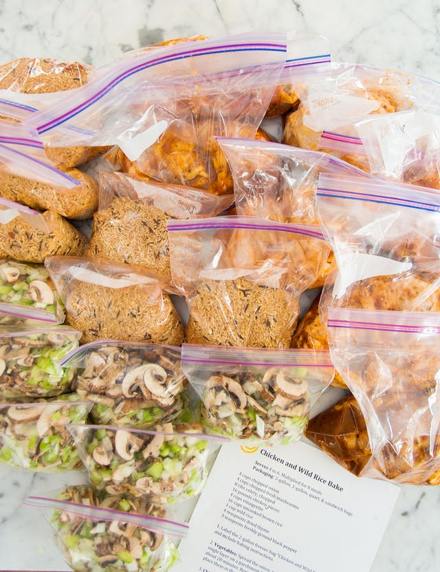 make ahead freezer meals