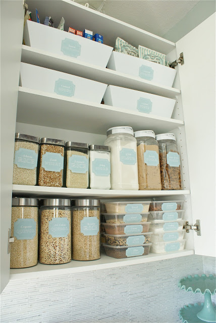 dollr store pantry makeover