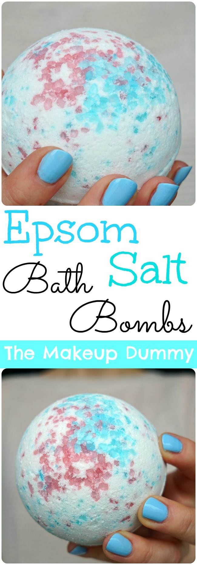 Epsom salt Bath Bomb