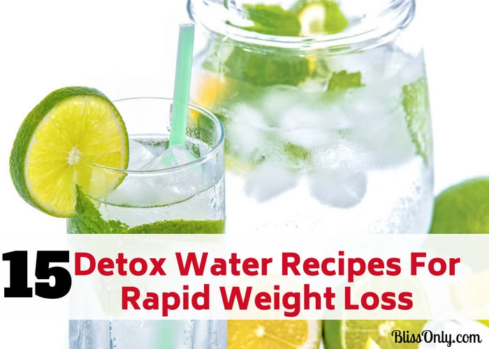 15 Detox Water Recipes For Rapid Weight Loss (beyond easy)