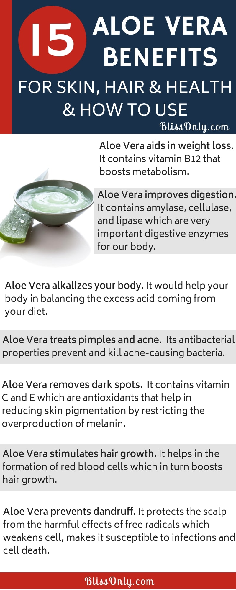 aloe vera for skin