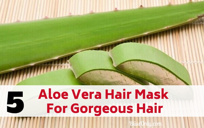 aloe vera hair mask