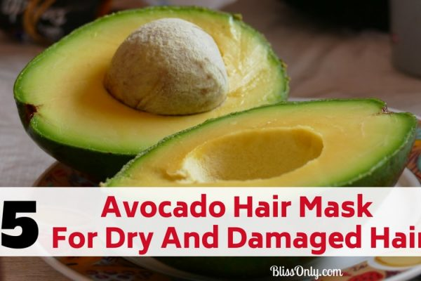 5 Avocado Hair Mask For Dry And Damaged Hair