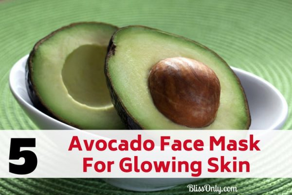 5 Avocado Face Mask For Glowing Skin