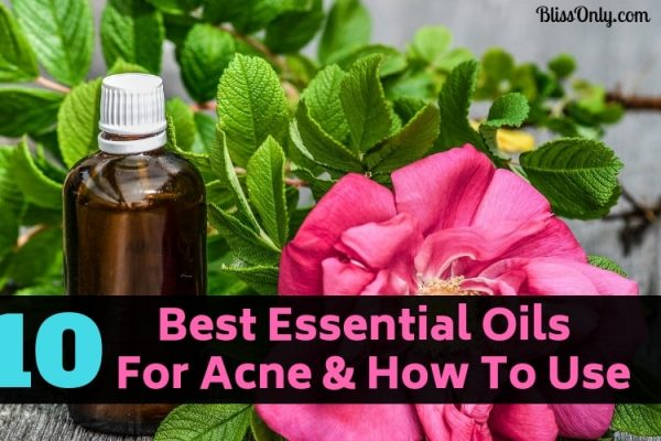 10 Best Essential Oils For Acne & How to Use
