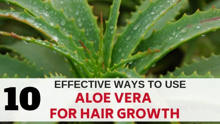 10 Effective Ways To Use Aloe Vera For Hair Growth Blissonly