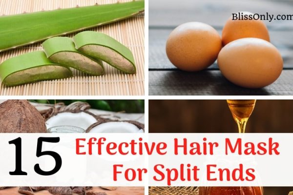 15 Effective Hair Mask For Split Ends-That Are Easy To Make