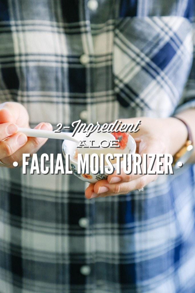 aloe vera face moisturizer