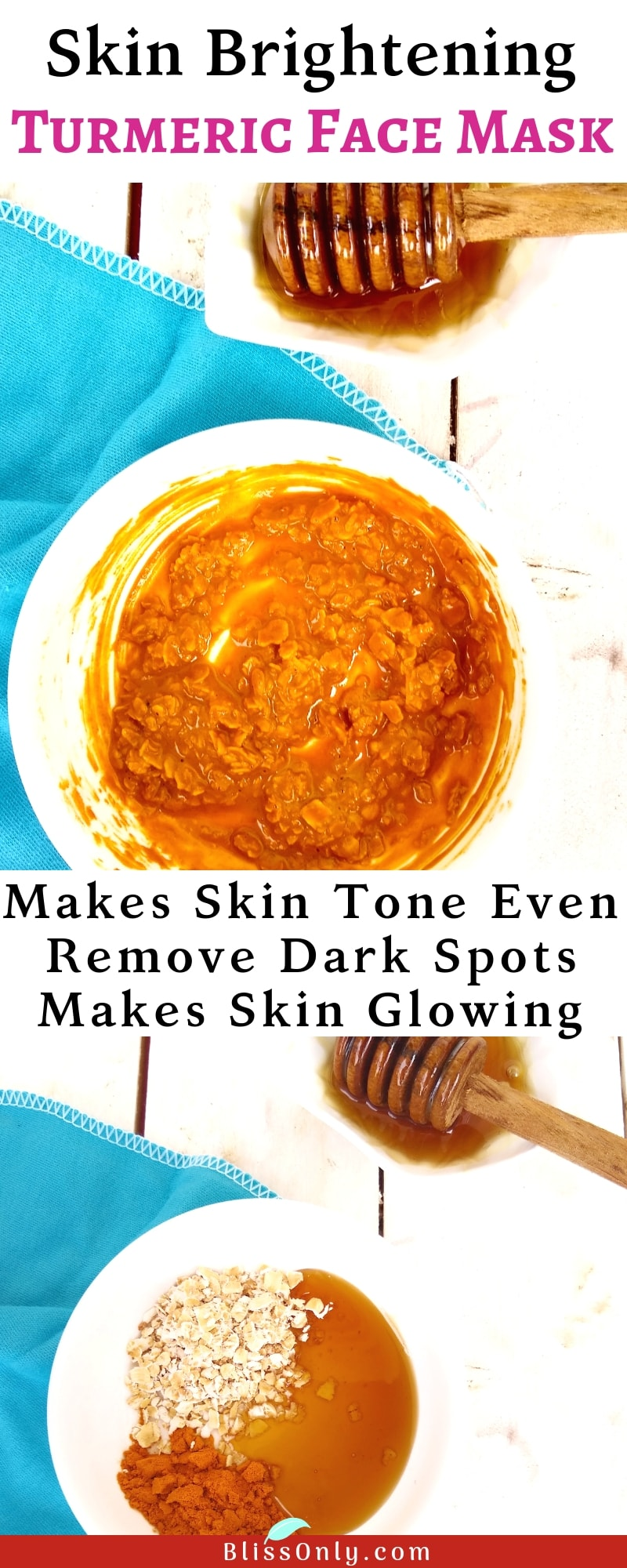 skin brightening turmeric face mask
