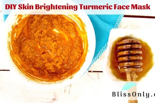 DIY Skin Brightening Turmeric Face Mask