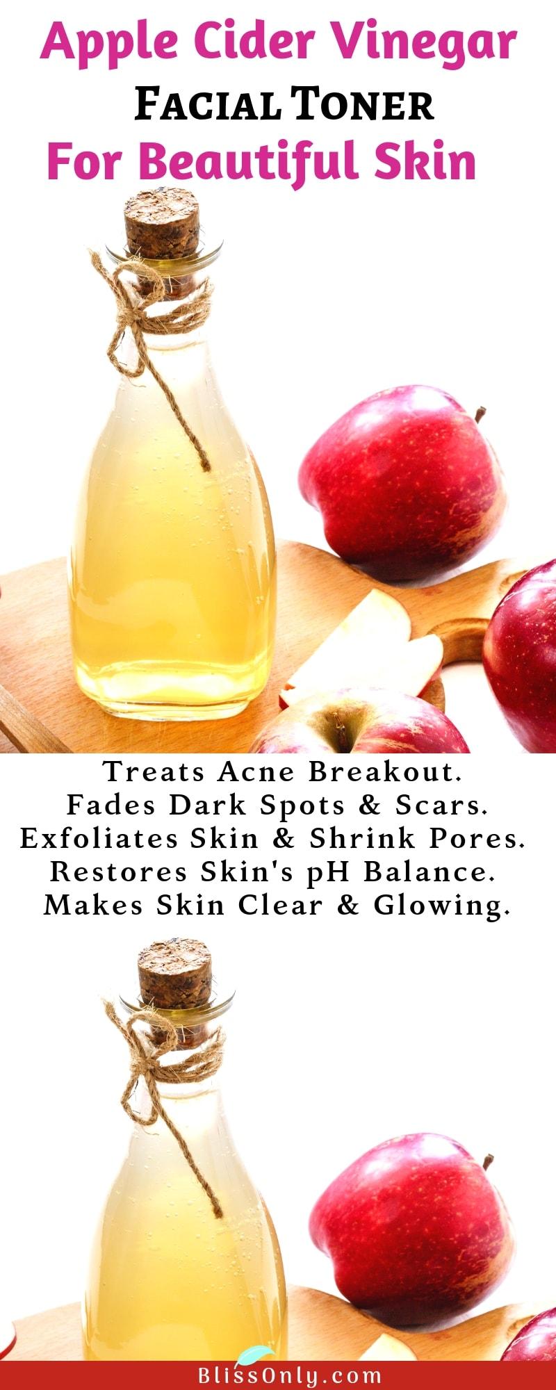 apple cider vinegar face toner