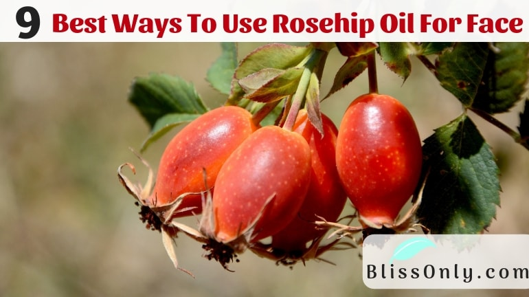9 Best Ways To Use Rosehip Oil for face