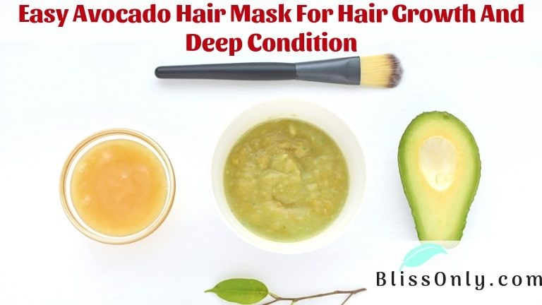 avocado hair mask for hair growth