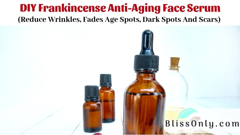 DIY Frankincense Anti-Aging Face Serum