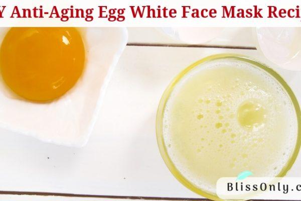 DIY Anti-Aging Egg White Face Mask