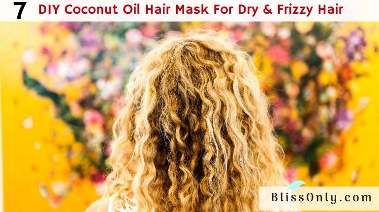 coconut oil hair mask for frizzy hair