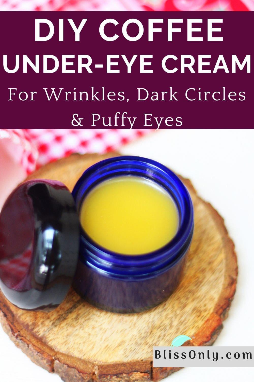 coffee under-eye cream