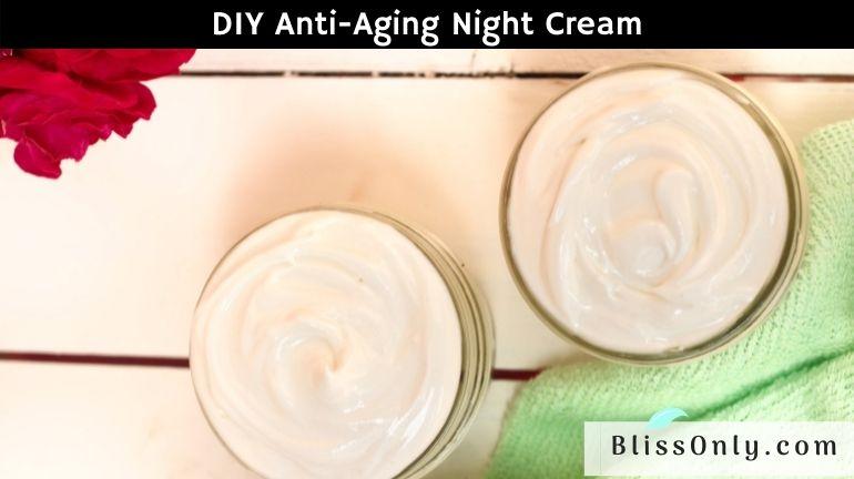 anti-aging night cream