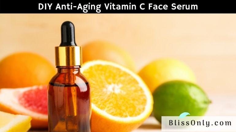 anti-aging vitamin c face serum